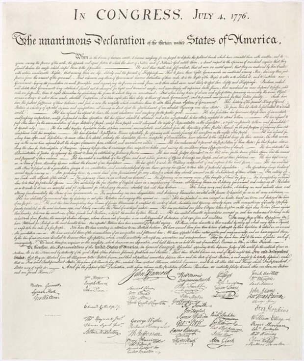 Декларация независимости (Спаркс)