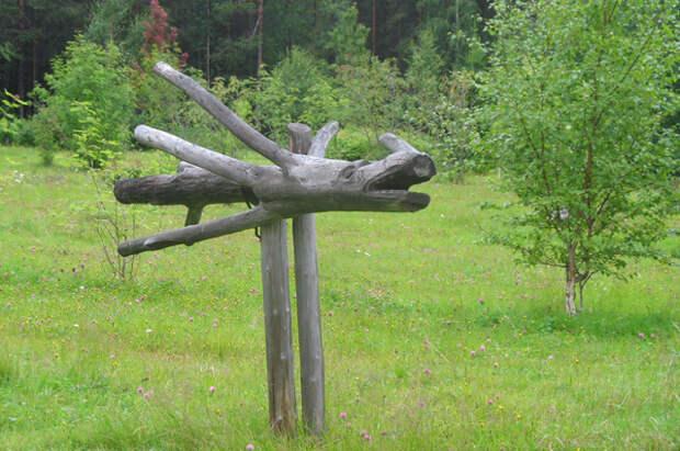 Сделай сам. 5 идей деревянных садовых украшений