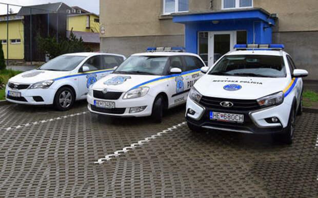 Полицейские Словакии приобрели Ладу Весту