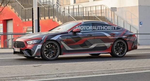 Mercedes-Benz AMG GT 73e 2022 года замечен фотошпионами