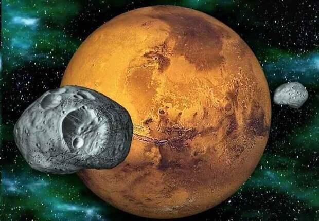 Тайны древней карта Марса из Александрийской библиотеки, следы которой потеряны