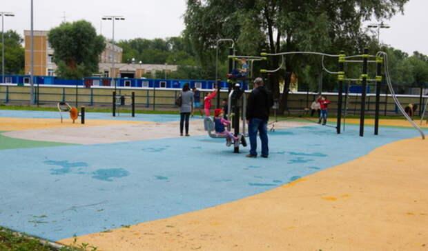 Универсальная спортплощадка открыта натерритории школы №13 вНижнем Тагиле