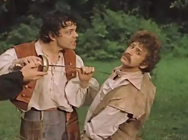 Съёмки фильма «Труффальдино из Бергамо»