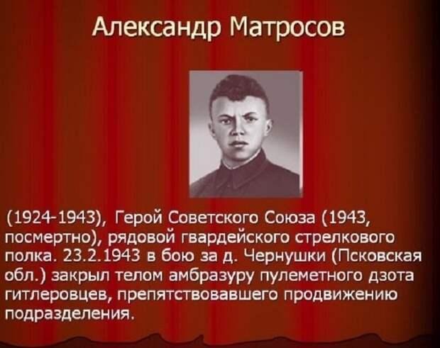 Герои Великой Отечественной Войны 1941-1945 года и их подвиги