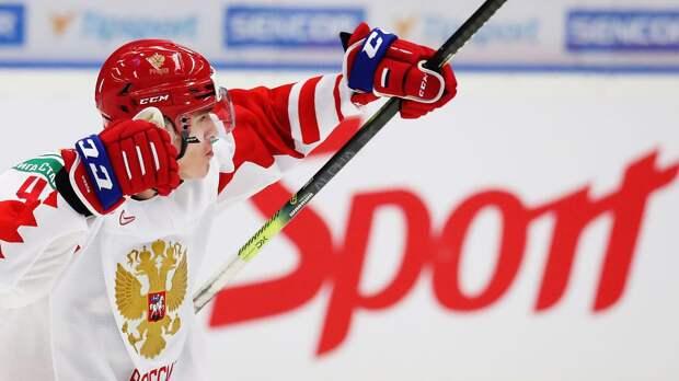 Егор Замула дебютировал в НХЛ