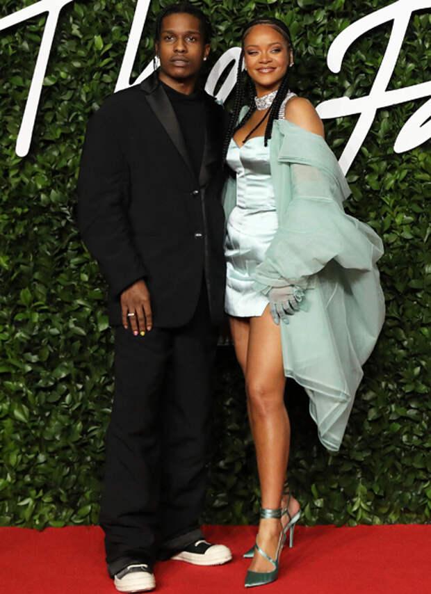 Рианна и A$AP Rocky сходили на свидание в Лос-Анджелесе