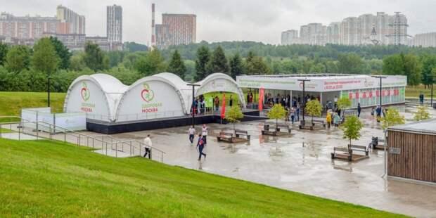 Павильон «Здоровая Москва» в Митине будет работать только для вакцинации