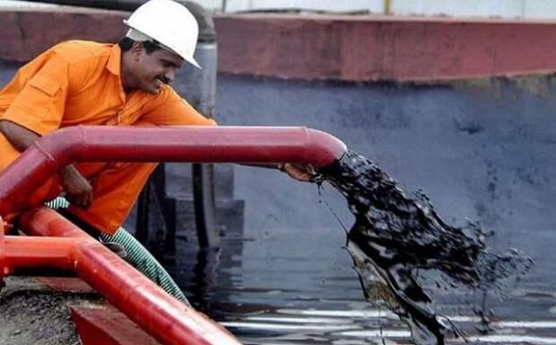 Индия нефть