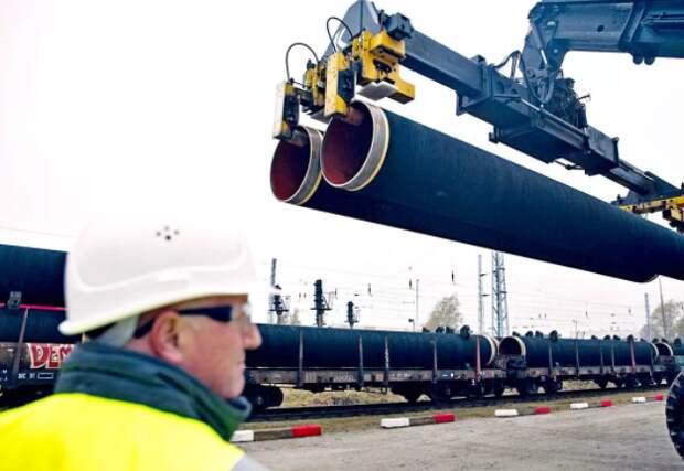 """""""Газпром"""" считает преждевременным говорить о сроках завершения """"Северного потока-2"""""""