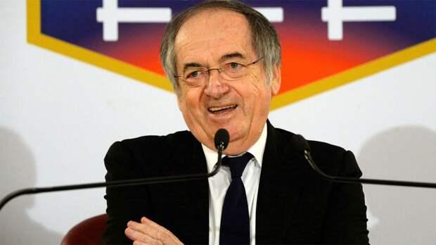 Ле Грэ сохранил на 4 года пост президента Федерации футбола Франции