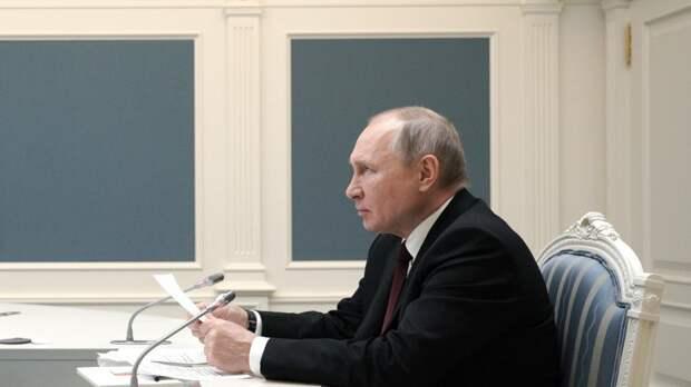 Путин назвал фарсом выпады в сторону РФ о кибератаках