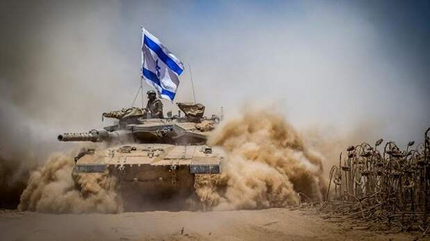 Армия Израиля нанесла танковый удар пообъектам ХАМАС