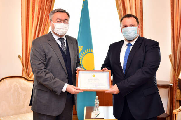 Посол Латвии завершил дипмиссию в Казахстане
