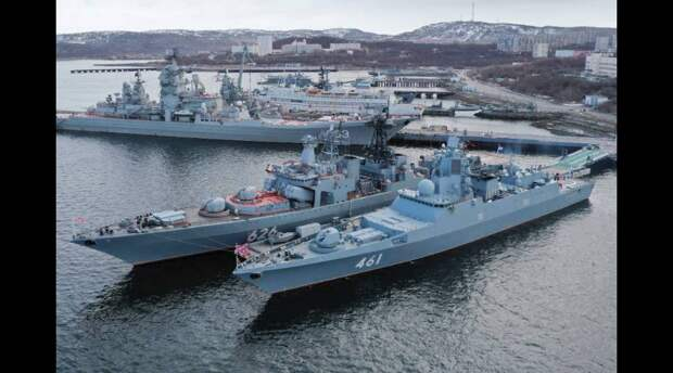 Военно-морской флот России. Источник изображения: https://life.ru