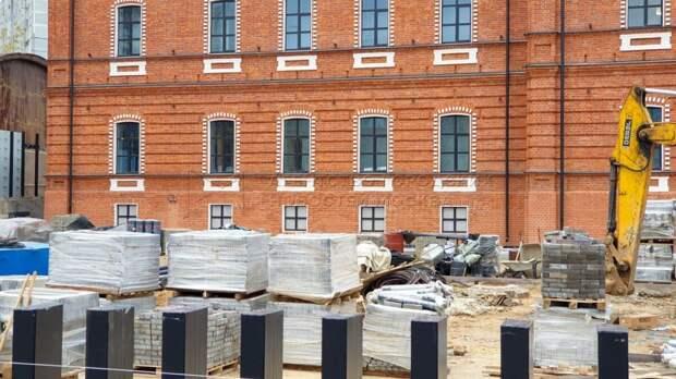 Здание музея криптографии на Ботанической готовят к открытию