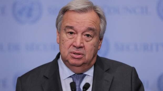 Генсек ООН отреагировал на массовое убийство в казанской школе