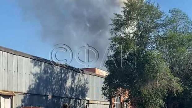 Корреспонденты ФАН пообщались с очевидцами пожара в районе Лужников