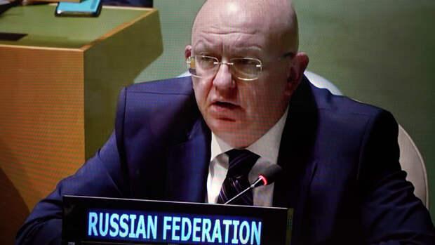 Небензя уличил страны Запада в нежелании слушать жителей Донбасса