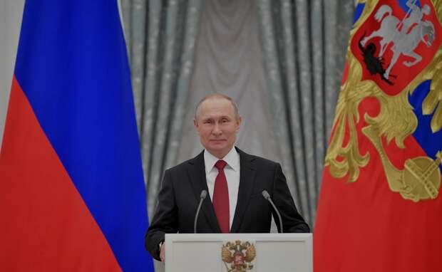Путин дал старт подготовке голосованию о поправках в Конституцию