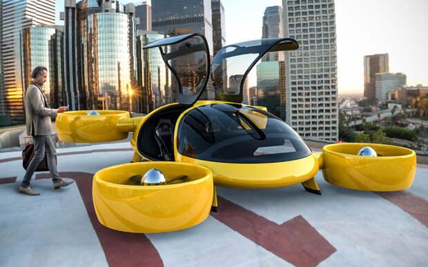 В Москве испытывают беспилотное летающее такси
