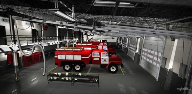 На ЗИЛе построят пожарное депо с комнатой психологической разгрузки