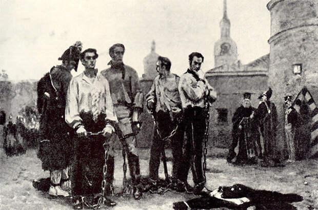 Как казнили на Руси