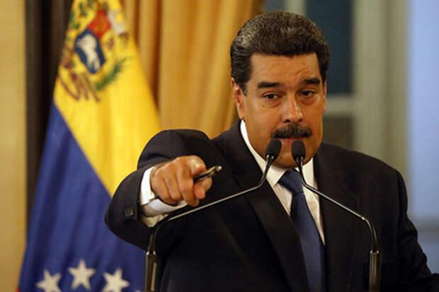Мадуро обвинил США в отравлении гуманитарной помощи