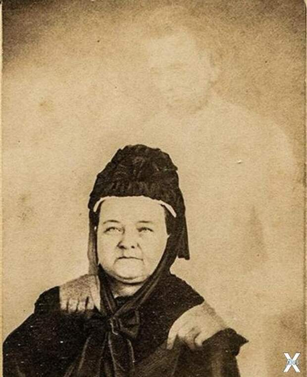 Вдова Авраама Линкольна с «мужем»