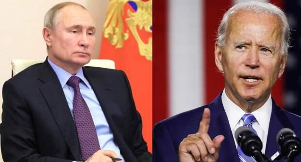 Байден обрадовался предложению Путина
