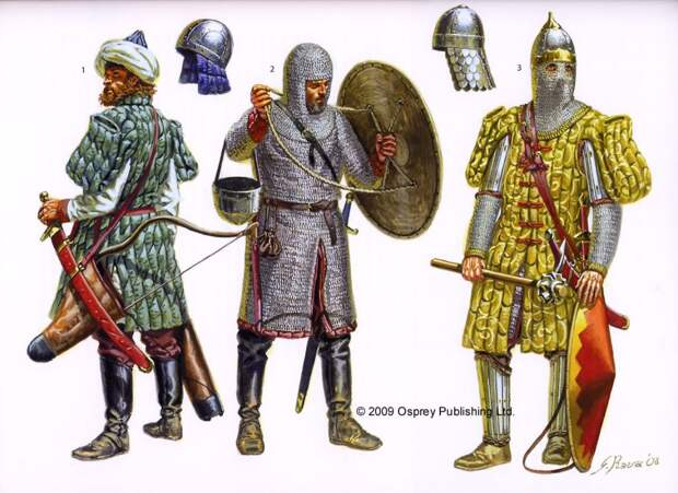 Армия Византии в представлении Джузеппе Равы