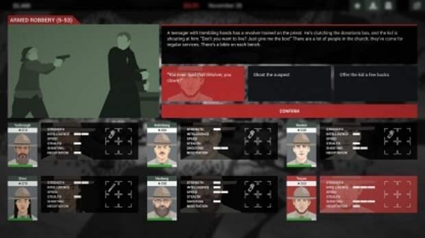 Новый режим This is the Police 2 вдохновлён XCOM