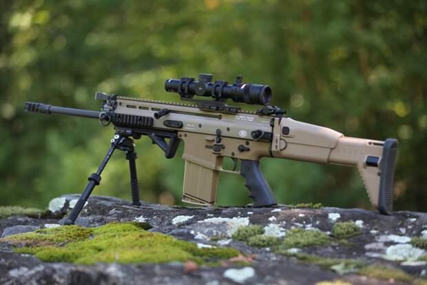 Модульный стрелковый комплекс – американская штурмовая винтовка FN SCAR