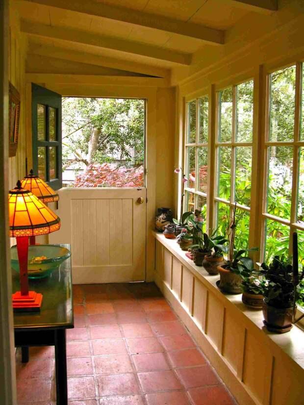 Веранда в частном доме: самые беспроигрышные варианты оформления (71 фото)