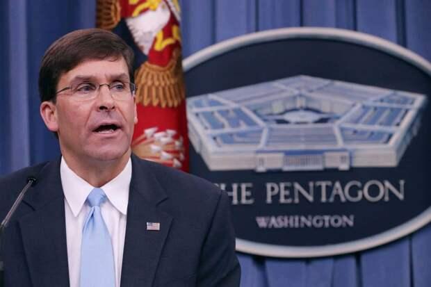 Марк Эспер, глава Департамента обороны (министр обороны) США. Источник изображения: https://vk.com/denis_siniy