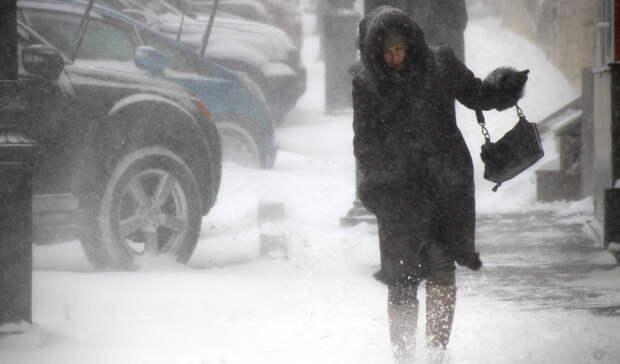 Метель и шквалистый ветер обрушатся на Оренбургскую область