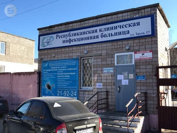 «Красная зона» Удмуртии: журналистам изнутри показали работу ковид-центра
