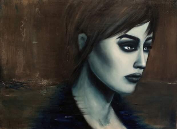Французский художник-самоучка. Emilie Menard