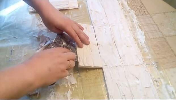 Модный ремонт почти бесплатно: искусственный камень своими руками
