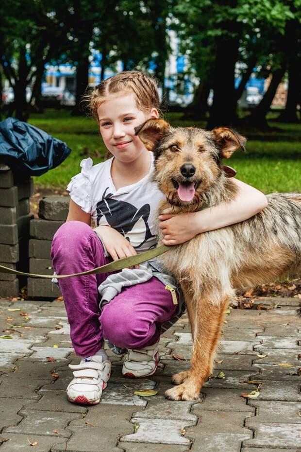 У бородатого одноглазого песика почти не было шансов найти дом волонтер, пес, приют, собака, терьер