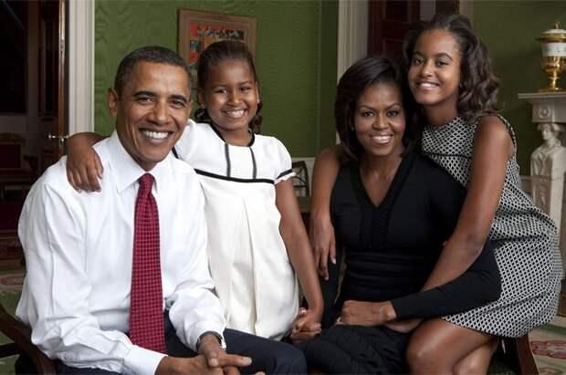 Обама сообщил, что его дочери участвовали в протестах после смерти Флойда