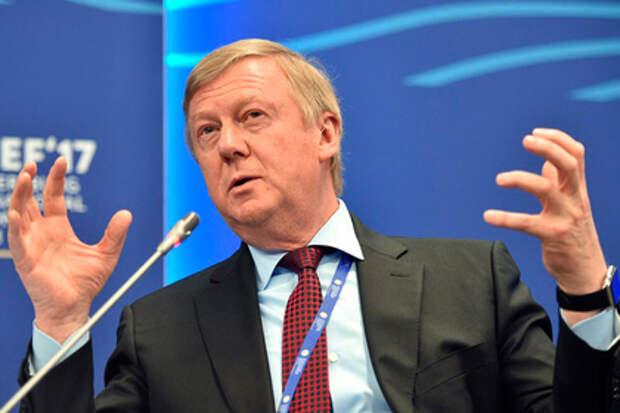 Чубайс пообещал России большую газовую турбину