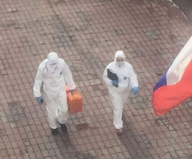 Коронавирус уже в Москве – 5 фото и видео