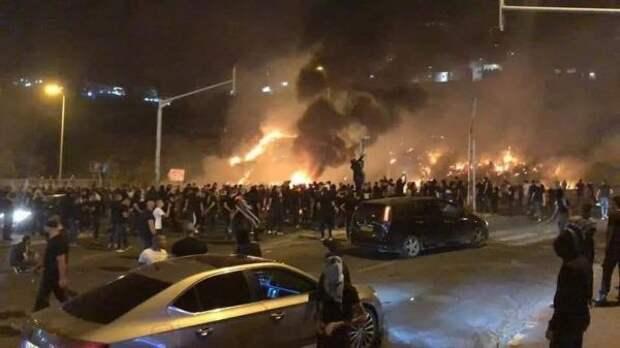 Визраильском городе Лод введено чрезвычайное положение