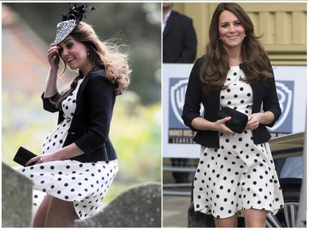 Чтобы юбка не развевалась, в подол вшивают специальные утяжелители