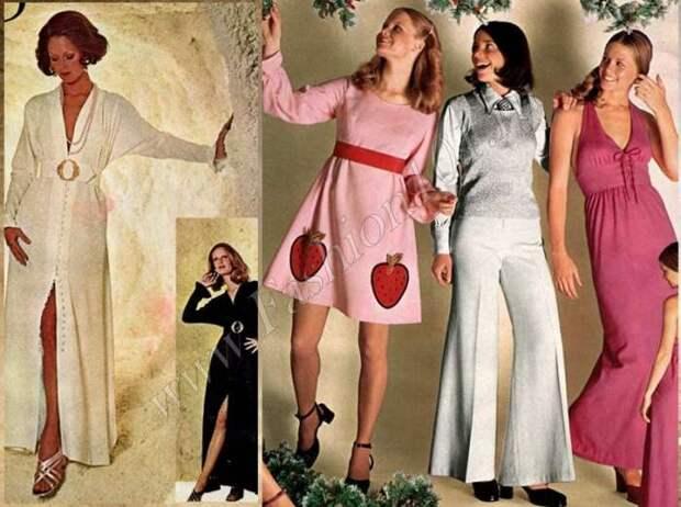 Мода 70 х годов фото
