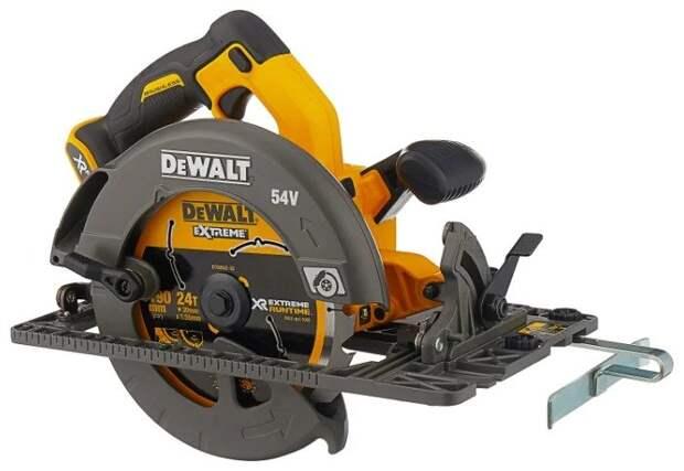 Лучший вариант циркулярной пилы: циркулярная пила DeWALT DCS576N 190 мм