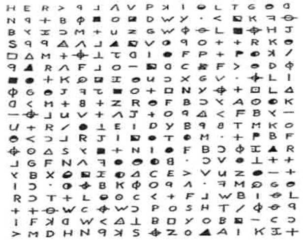 Самые крутые зашифрованные послания