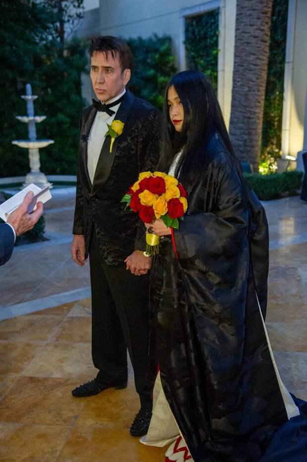 57-летний Николас Кейдж женился в пятый раз