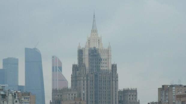 Россия не подтвердила информацию о высылке дипломатов Словакии
