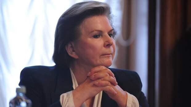 Валентина Терешкова одержала победу впраймериз партии «Единая Россия»